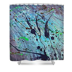 Practice Board - Nightingale Shower Curtain
