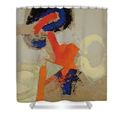 Shower Curtain featuring the painting Practice  by Cliff Spohn