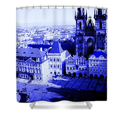 Shower Curtain featuring the photograph Prague Cz by Michelle Dallocchio