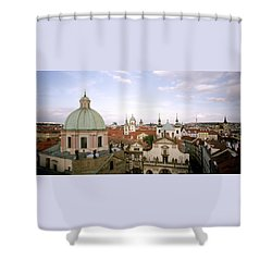 Prague Twilight Shower Curtain