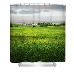 Prairie Farm Shower Curtain