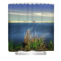 Prairie Lake Shower Curtain