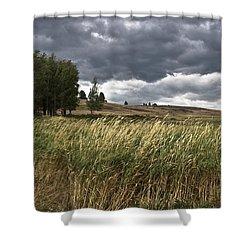 Prairie, Lost Trail Wildlife Refuge Shower Curtain