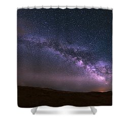 Prairie Night's Glitter Shower Curtain