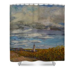 Prairie Town Shower Curtain