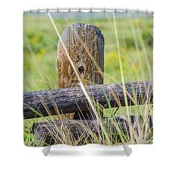 Prairie's Edge Shower Curtain
