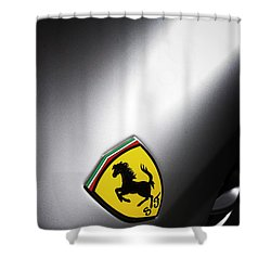 Shower Curtain featuring the photograph Prancing Horse by ItzKirb Photography