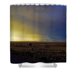 Prarie Rain Lund Utah Shower Curtain