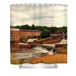 Prattville Alabama Shower Curtain by L O C