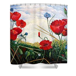 Prayer And Praise Shower Curtain