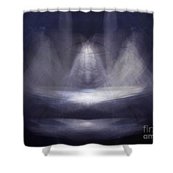 Prayer Bowl01 Shower Curtain