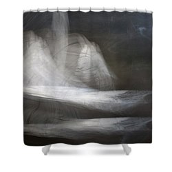 Prayer Bowlleft Shower Curtain