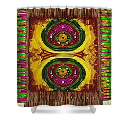 Prayer Rug Shower Curtain by Pepita Selles