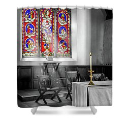 Shower Curtain featuring the photograph Prayers And Hope by Adrian Evans