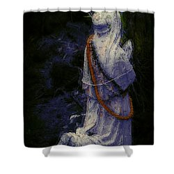 Praying Shower Curtain