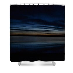 Pre-dawn's Glow Shower Curtain