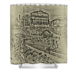 Clemson Tigers Pre Game Shower Curtain