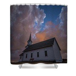 Shower Curtain featuring the photograph Preacher by Aaron J Groen