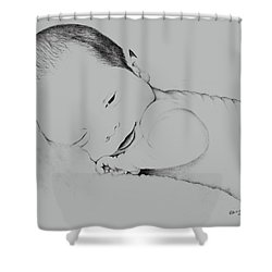 Precious Baby Shower Curtain