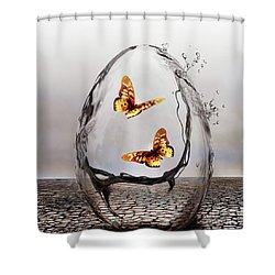 Precious Shower Curtain