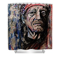 Precious Metals, Willie Shower Curtain