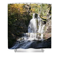 Precious Nectar Shower Curtain by David and Lynn Keller