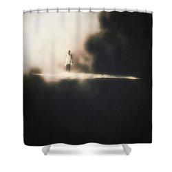 Precipice Shower Curtain