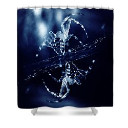 Shower Curtain featuring the digital art Predators  by Fine Art By Andrew David