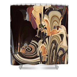 Pregnant Journey Shower Curtain