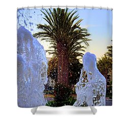 Shower Curtain featuring the photograph Pregnant Water Fairy by Mariola Bitner