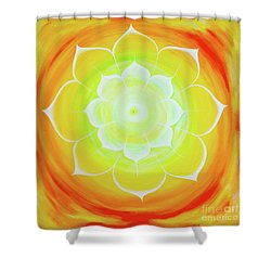 Prem Yantra Shower Curtain