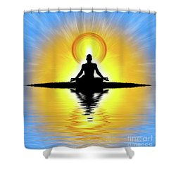Prema-swarupa Shower Curtain