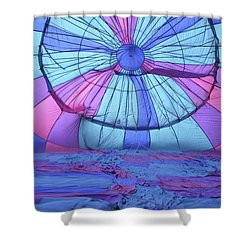 Preparing For Lift Off Shower Curtain