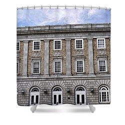 Prescott Court House  Shower Curtain by Saija  Lehtonen