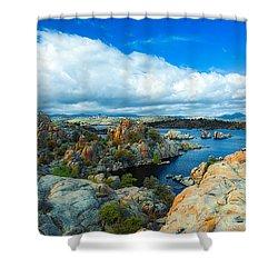 Prescott Rocks Shower Curtain