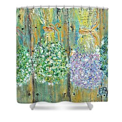 Preserved Herbs Shower Curtain