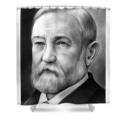 President Benjamin Harrison Shower Curtain