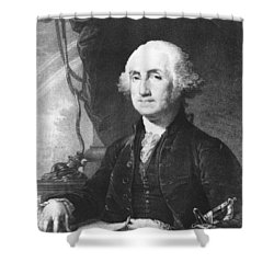 President George Washington Shower Curtain