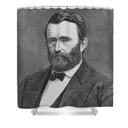 President Grant Shower Curtain by War Is Hell Store
