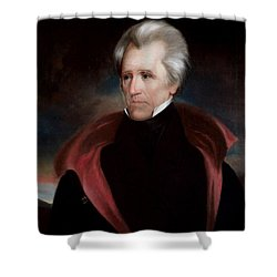 President Jackson Shower Curtain by War Is Hell Store