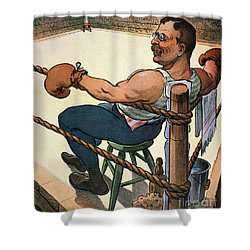 President Nomination, 1904 Shower Curtain by Granger
