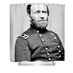 President Ulysses S Grant In Uniform Shower Curtain