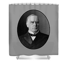 President William Mckinley  Shower Curtain by War Is Hell Store