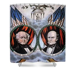 Presidential Campaign, 1848 Shower Curtain by Granger