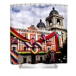 Presidential Palace La Paz, Bolivia Shower Curtain