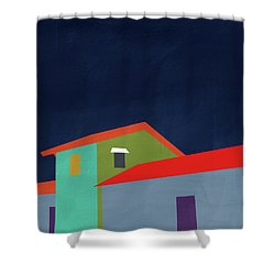 Presidio- Art By Linda Woods Shower Curtain by Linda Woods