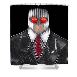 Press Officer Shower Curtain