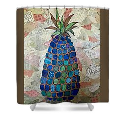 Pretend Pineapple Shower Curtain