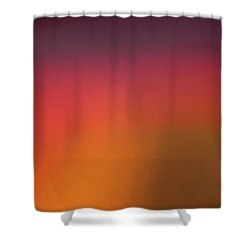 Pretend Sunrise Shower Curtain by CML Brown