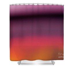 Pretend Sunset Shower Curtain